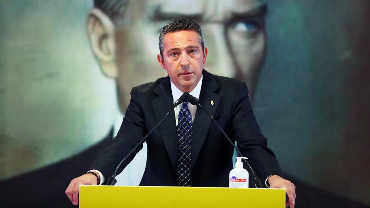 Fenerbahçe Başkanı Ali Koç: 'İnşallah hayretle karşıladığım açıklamaların devamı gelmez'