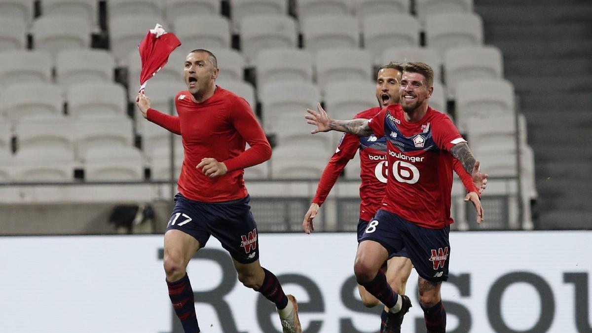 Burak Yılmaz Fransa'yı salladı, Lille'i taşıdı: 2-3