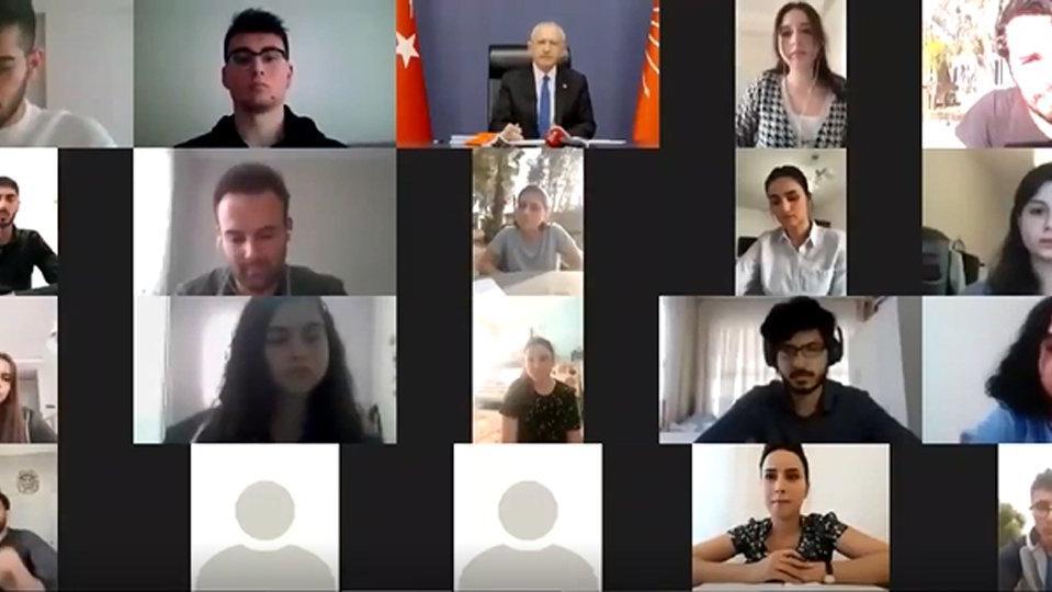 Kemal Kılıçdaroğlu'na bu kez esnaf çocukları dertlerini anlattı