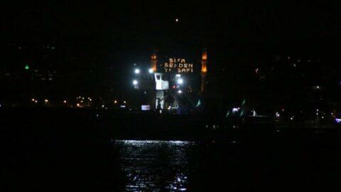 İstanbul Boğazı'nda arıza yapan gemi Ahırkapı'ya çekildi