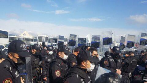 Kobani Davası gergin başladı