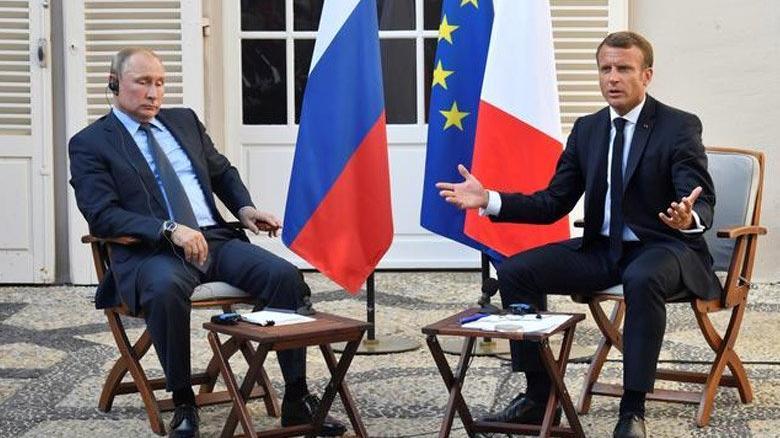 Macron ile Putin arasında kritik görüşme!