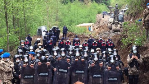 İşkencedere Vadisi'nde tahribat başladı