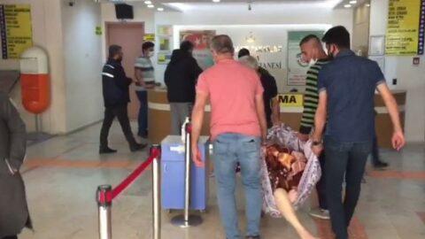 Hastanın battaniyeyle taşınma görüntülerinin ardından soruşturma başlatıldı