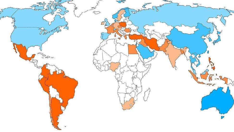 Bloomberg'den corona virüsünde olunacak ülkeler sıralaması: Türkiye geriledi