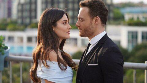 Hande Erçel ve Kerem Bürsin aşkı belgelendi