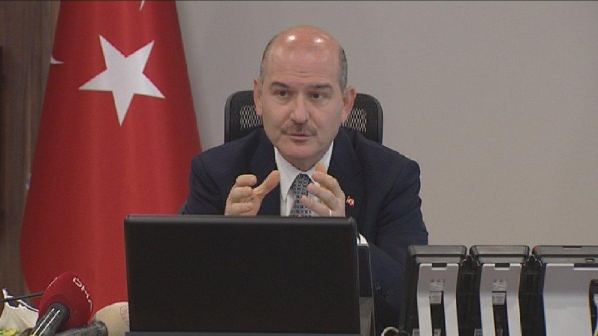 İçişleri Bakanı Soylu'dan 'tam kapanma' uyarıları