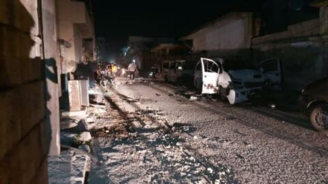 Cerablus'ta 2 bombalı saldırı