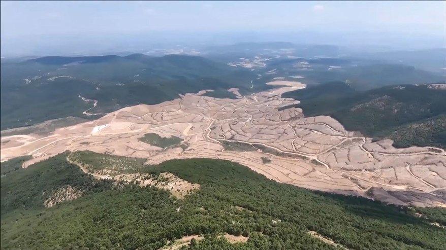 Kaz Dağları'ndaki maden sahası bakanlıkta