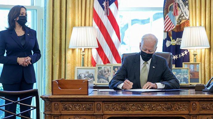 ABD'de Biden asgari ücret artışını imzaladı