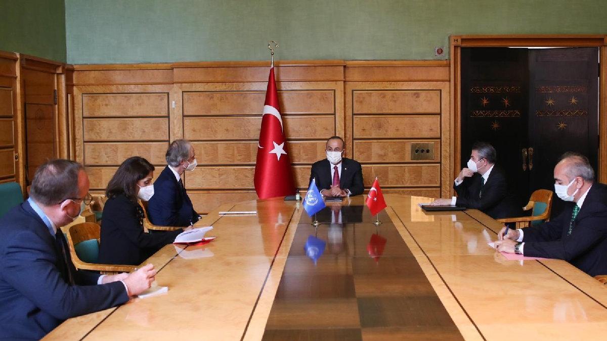 Çavuşoğlu'ndan Kıbrıs mesajı: Tek gerçekçi çözüm yeni müzakerelerin iki devlet arasında yapılması