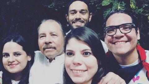 Nikaragua Devlet Başkanı Ortega'nın aile saadeti: Karısı yardımcı, 8 çocuğu danışman