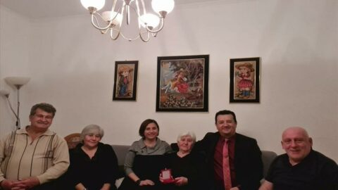 Ermeni asıllı Kore gazisinin ailesine MSB'den taziye ziyareti