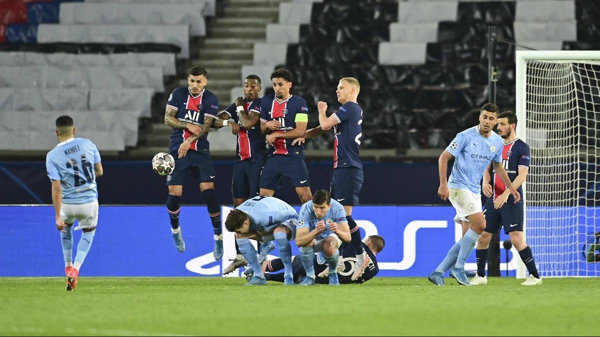 Manchester City maçında PSG'yi yıkan baraj: Utanç duvarı