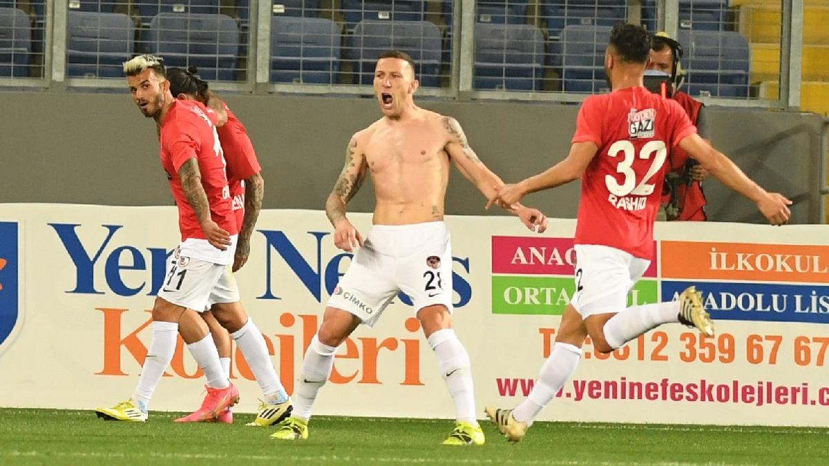Gaziantep FK, Ankaragücü'nü 84'te yıktı!