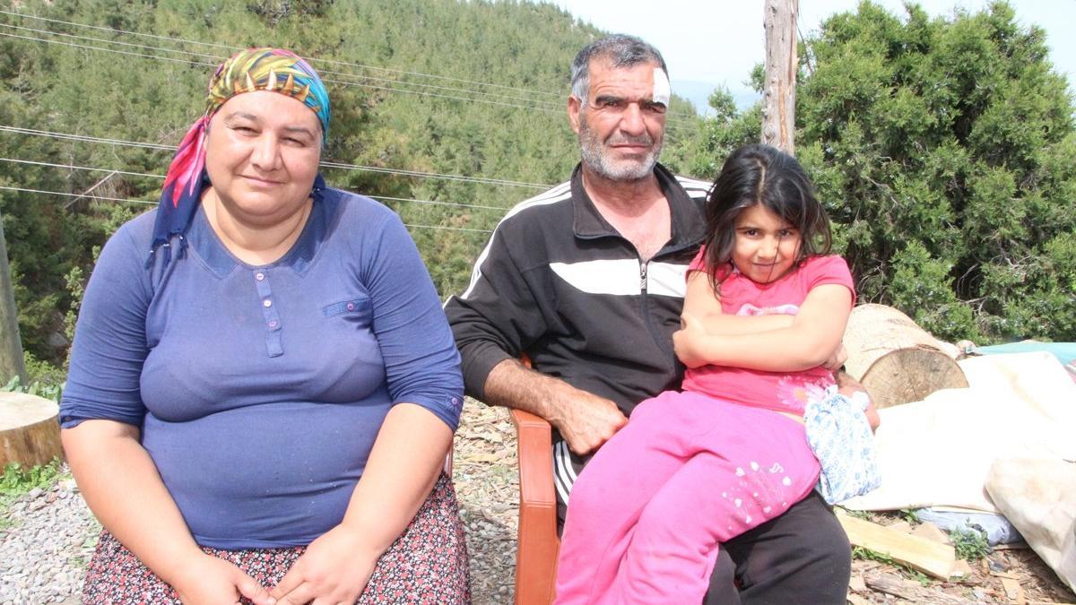 Maden çıkan bahçesini satmak istemedi, belediye çalışanlarının saldırısına uğradı