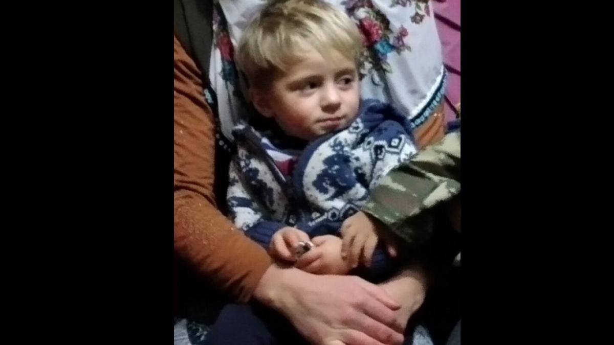 Yaylada kaybolan 1,5 yaşındaki Süleyman 22 saat sonra bulundu