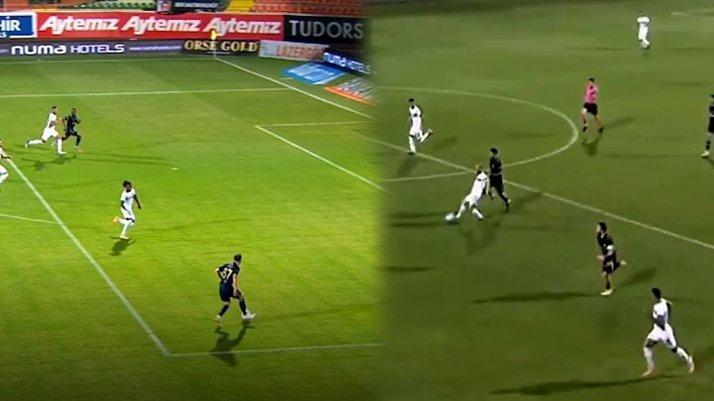 Alanyaspor Fenerbahçe maçının ilk yarısına VAR damga vurdu! Penaltı ve kırmızı kart...