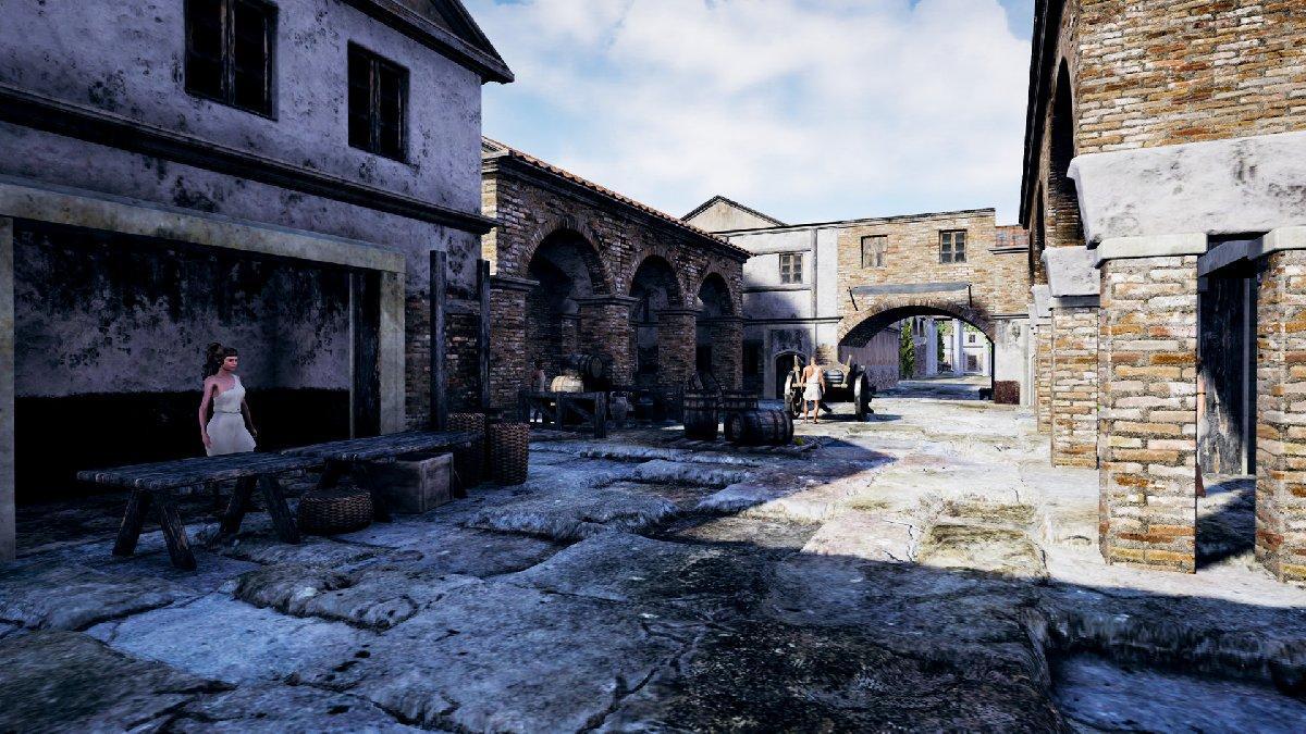 Efes antik kenti bilgisayar oyunu oldu