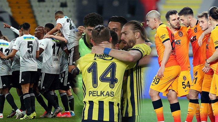 Süper Lig'de şampiyonluk oranları güncellendi (30.4.2021)