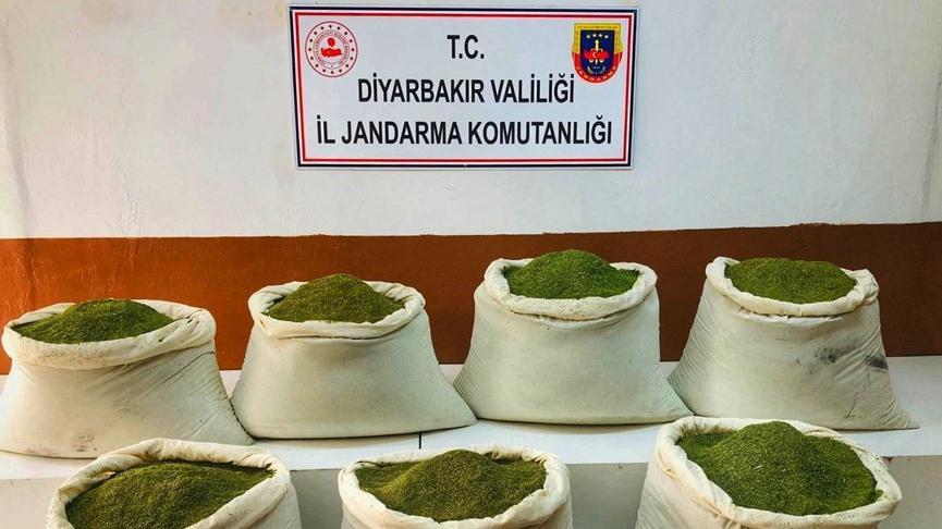 Bakan Soylu: Lice'de 221 kilogram toz esrar ele geçirildi