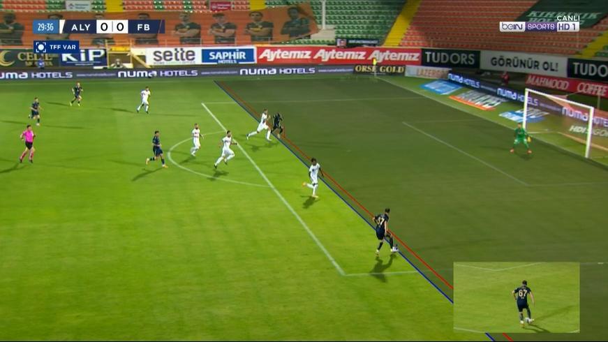 Fenerbahçe'de 'kural hatası' isyanı! Penaltı mı, ofsayt mı?