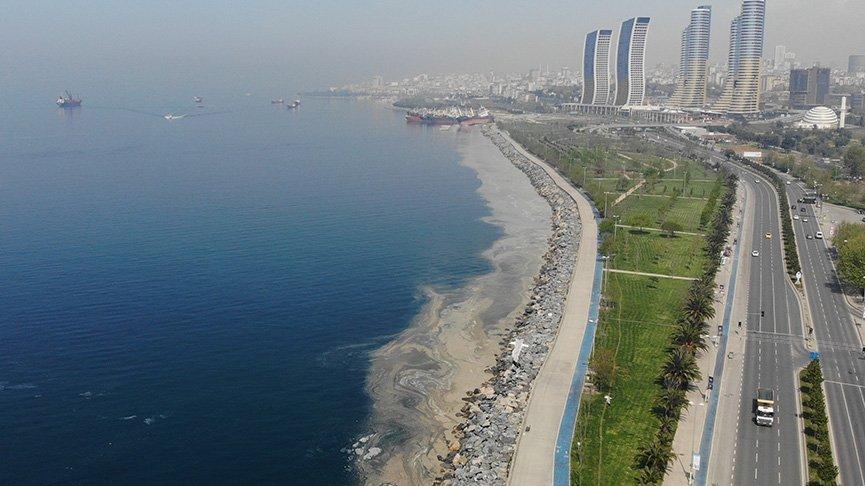 Marmara'yı deniz salyası kapladı