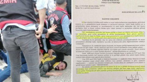 İçişleri Bakanlığı'ndan tartışılacak genelge: Polis müdahalesini kaydedenler engellenip, işlem yapılacak