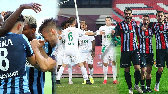 Süper Lig yolunda TFF 1. Lig'de heyecan son haftaya kaldı Adana Demirspor, Giresunspor ve Samsunspor...