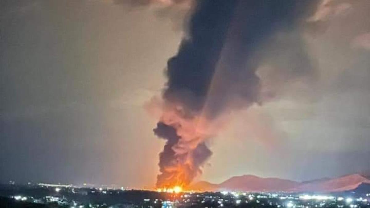 Ülke patlamayla sarsıldı! Yaralılar var