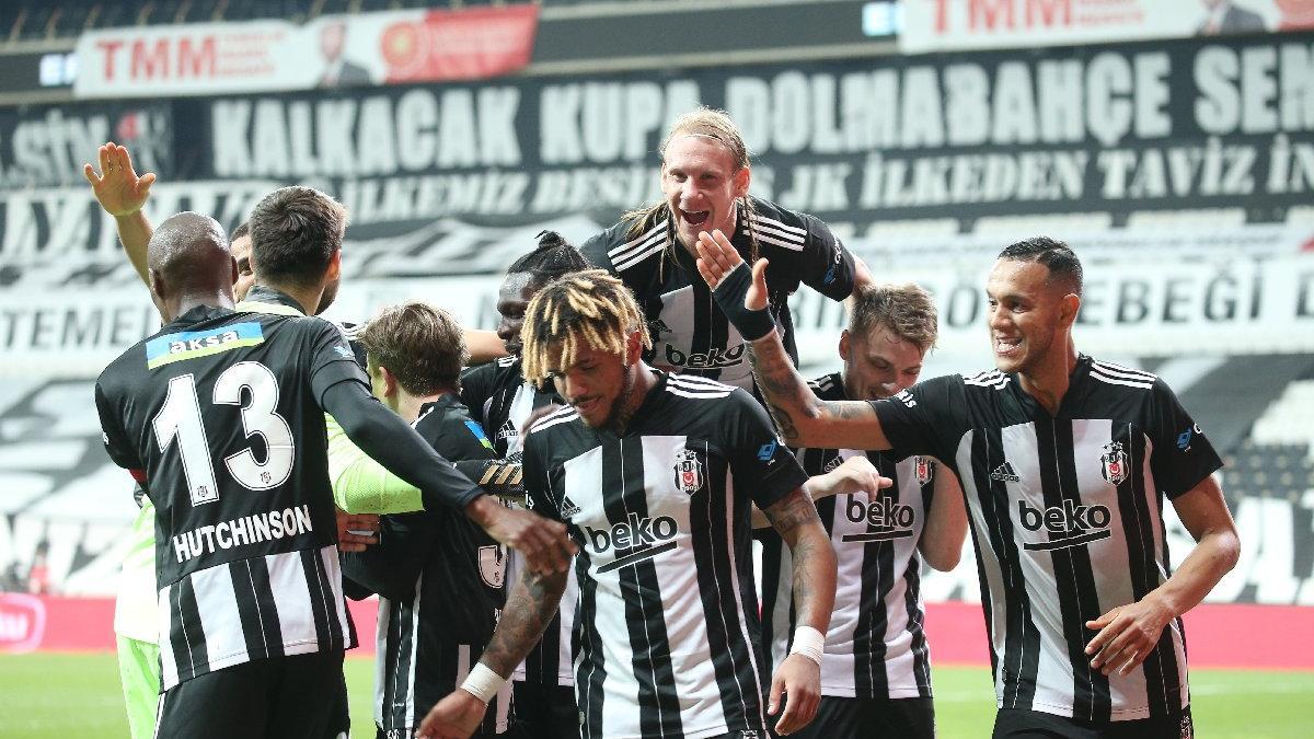 Beşiktaş'tan Hatayspor karşısında sezon rekoru!
