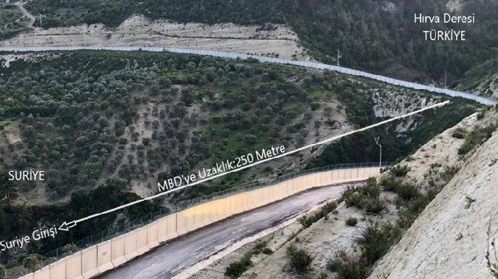 Türkiye sınırında tünel: Mehmetçiğin dikkatinden kaçmadı