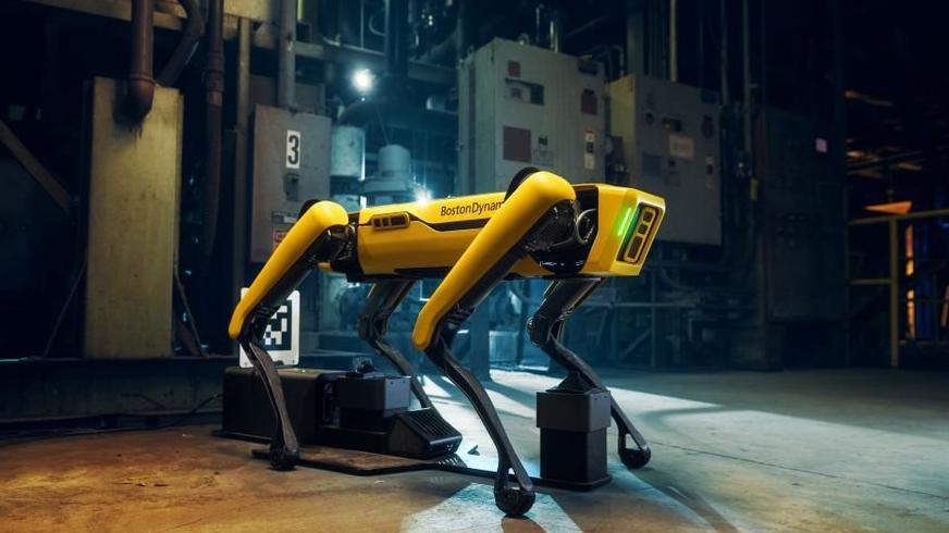 Amerika'da güvenlik güçlerinin robot köpek kullanımı durduruldu