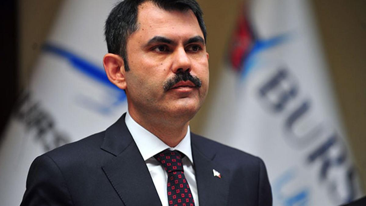 Bakan Murat Kurum'dan Kanal İstanbul açıklaması: Temeli atıyoruz