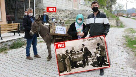 2021 Türkiye'si: 80 yıl sonra yine eşekli kütüphane