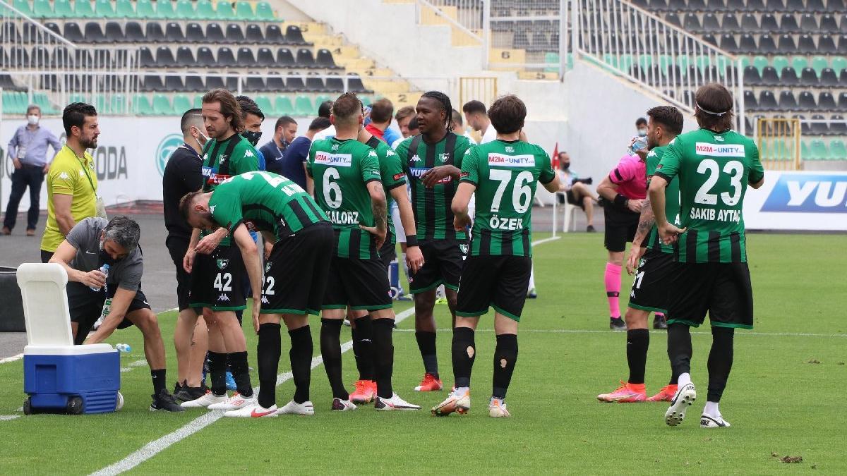 Süper Lig'de küme düşen ilk takım Denizlispor oldu!