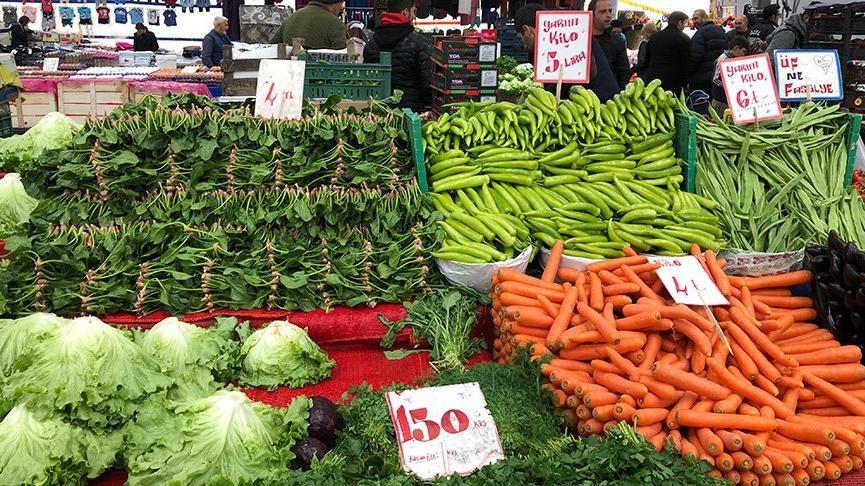 Sebze ve meyve fiyatları arttı