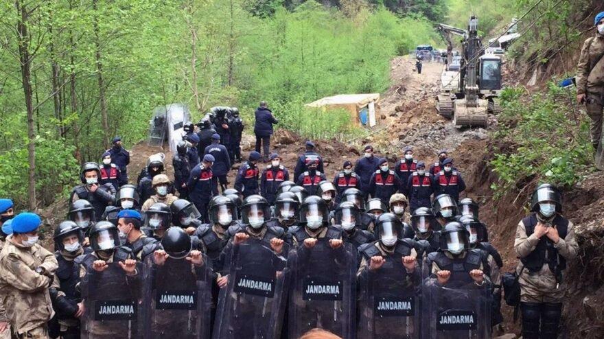 İşkencedere'den yükselen çığlık: Lütfen sesimizi duyun, şu Ramazan günü! Ormanlarımızı katlediyorlar!