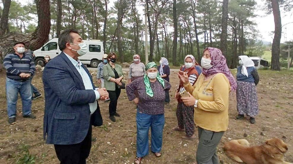 Maden ocağına köylülerden sert tepki: Tarım, üretim ve yaşam biter