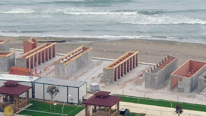 AKP'li belediyeden tepki çeken proje: Bu nasıl bir plaj?