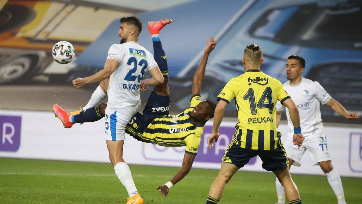 Fenerbahçe Erzurumspor maçında tartışma yaratan penaltı kararı