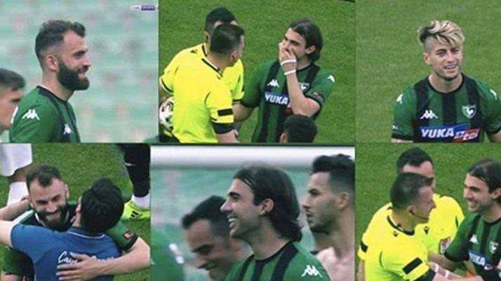 Denizlispor futbolcularının tavrı taraftarların tepkisini çekti