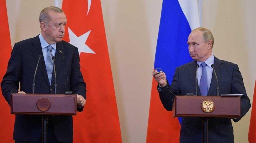 Putin ve Erdoğan, Sputnik V aşısını görüştü