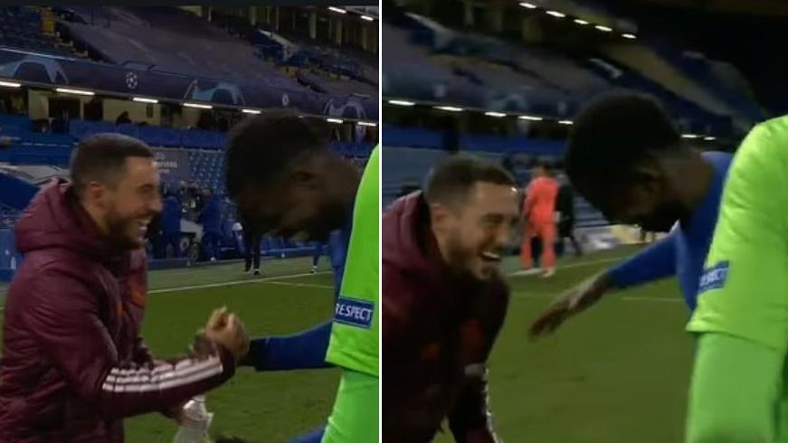 Real Madrid'de Eden Hazard'ın gülücükleri infial yarattı