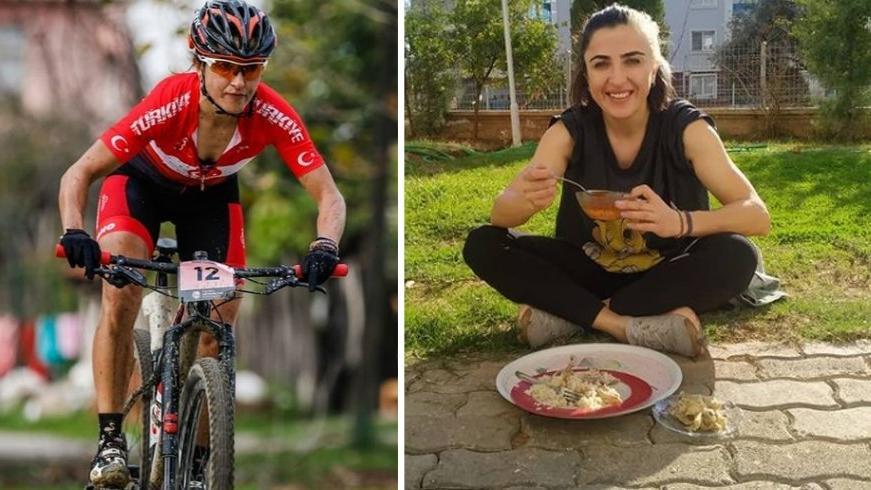 Olimpiyatlara hazırlanan milli sporcu Semra Yetiş'e 'maske' cezası