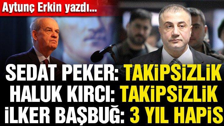 Sedat Peker: Takipsizlik Haluk Kırcı: Takipsizlik İlker Başbuğ: 3 yıl hapis