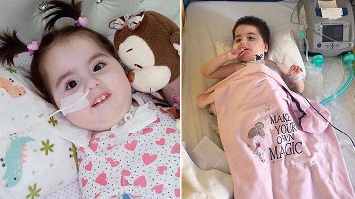 SMA'lı Ela bebek 1 kilo daha alırsa umutları tükenecek
