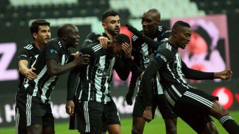 Beşiktaş'ın iki yıldızı Aboubakar ve N'Koudou Galatasaray derbisinde yok