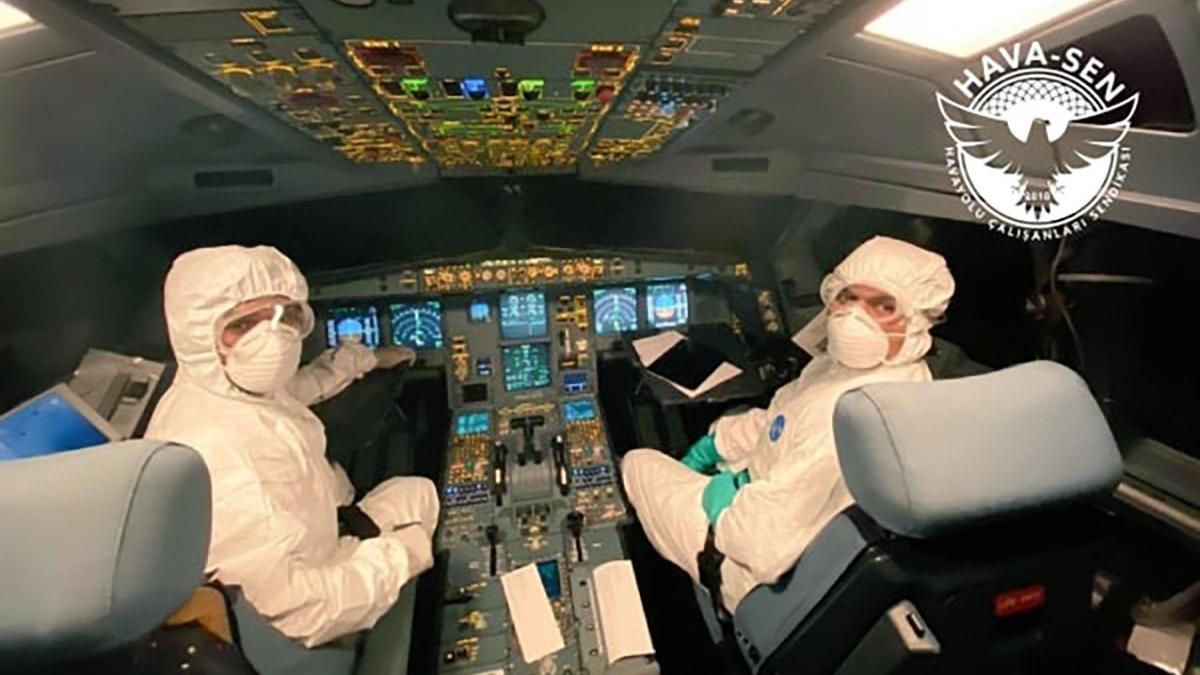 Covid-19 geçiren pilotların kalıcı lisans kaybı korkusu