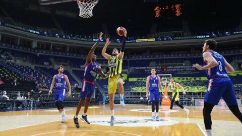 Derbide Anadolu Efes, Fenerbahçe Beko'yu yendi